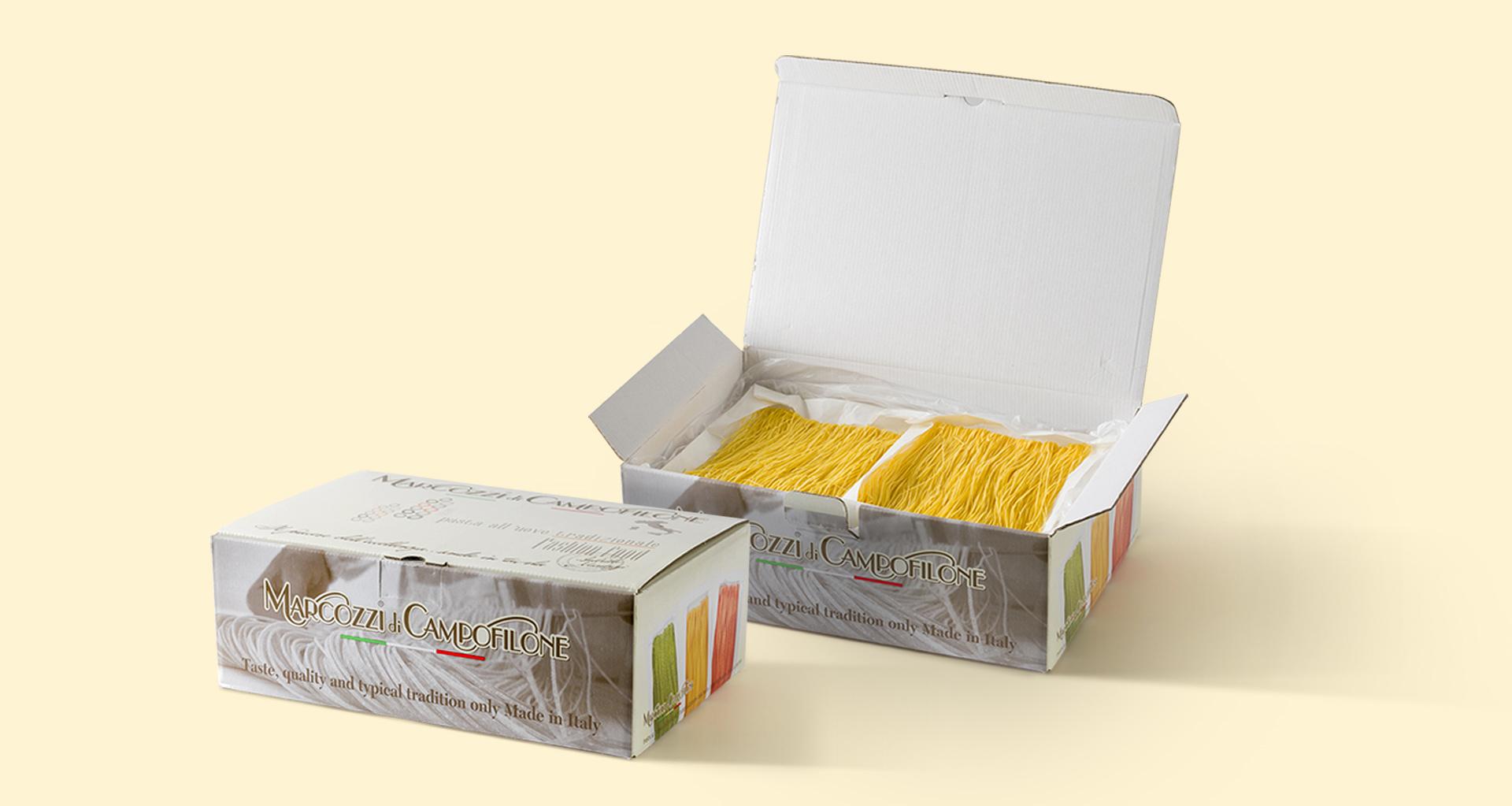 Pasta all'uovo di Campofilone | Pastificio Marcozzi di Campofilone