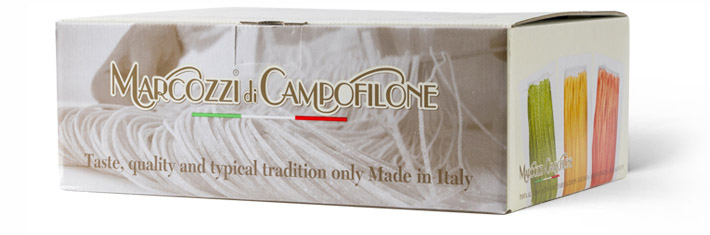 Specialità tradizionali Marcozzi, perfette per ogni occasione, da condividere con le nostre confezioni regalo di pasta di Campofilone.